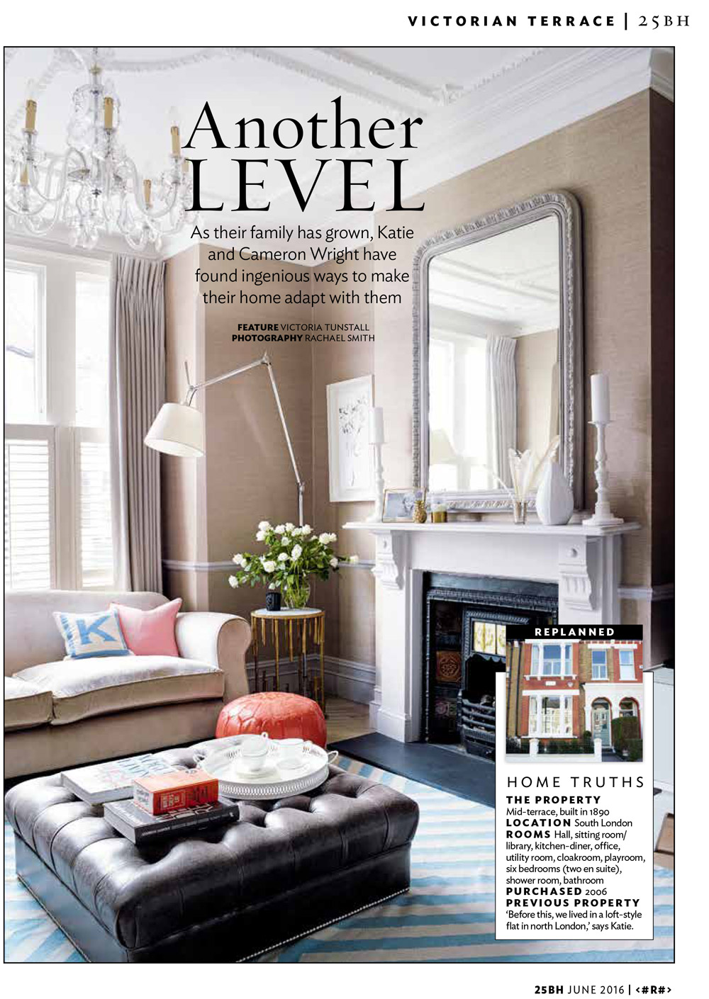 Beautiful Homes Magazine article in 25 beautiful homes magazine - june 2016 - grove interiors